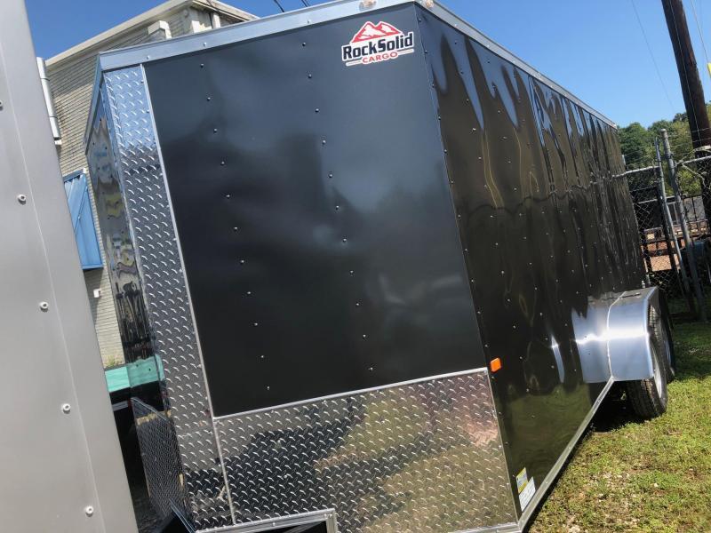 2020 Rock Solid Cargo 16x07 TA Enclosed Cargo Trailer