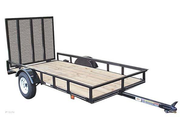 2016 Carry-On 5X10GW2K - 2000 lbs. GVWR Wood Floor Utility Trailer