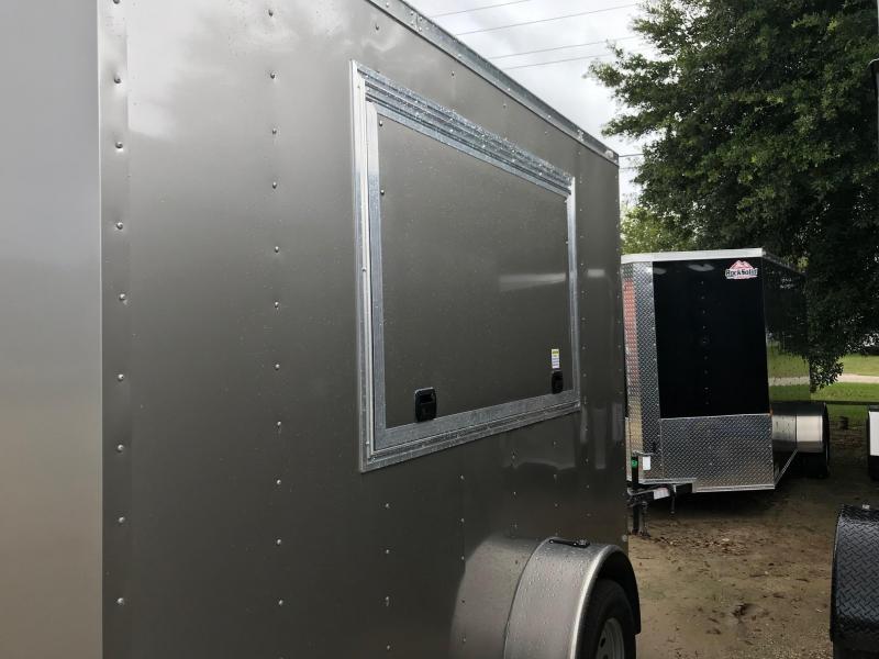 2020 6x10 Rock Solid Cargo Vendor SA VN Enclosed Cargo Trailer