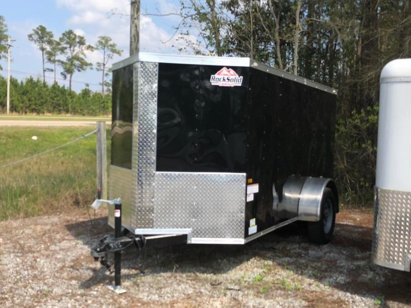 2018 5x10 Rock Solid Cargo SA VN Enclosed Cargo Trailer