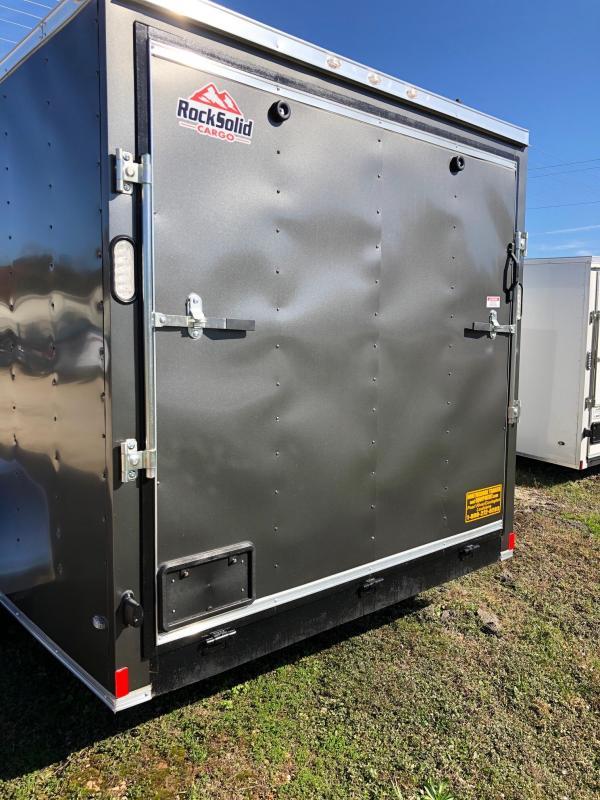 2019 Rock Solid Cargo 16x07 TA Enclosed Cargo Trailer