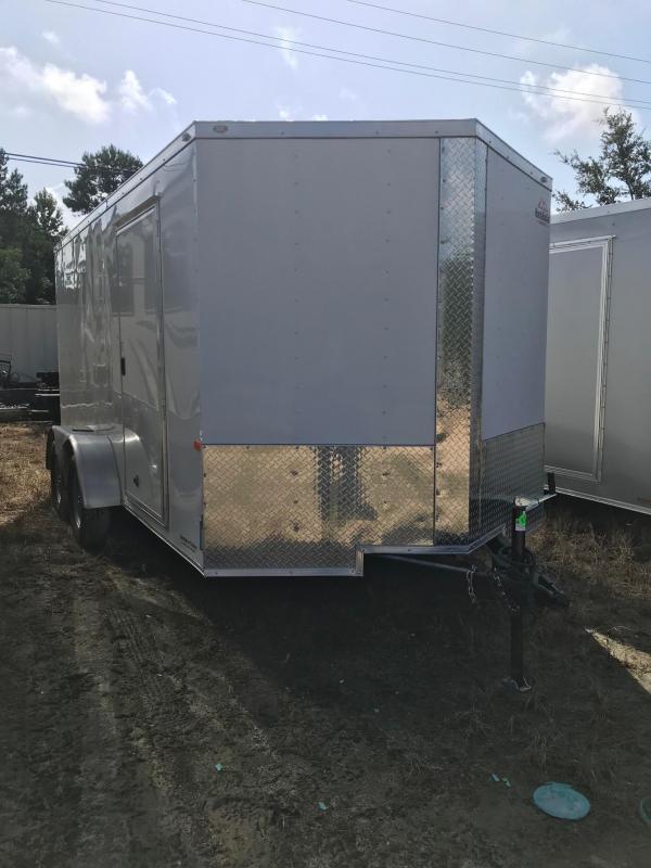 2020 7x14 Rock Solid Cargo TA VN Enclosed Cargo Trailer