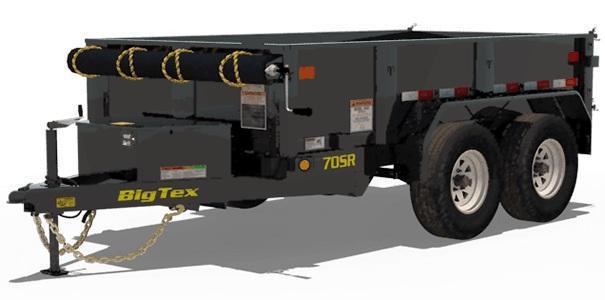2020 5x10 Big Tex Trailers 70SR-10-5W Dump Trailer