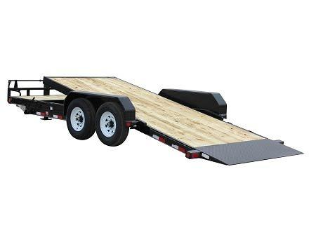 2020 6.10x24 PJ Trailers 6 in. Channel Equipment Tilt (T6) Equipment Trailer