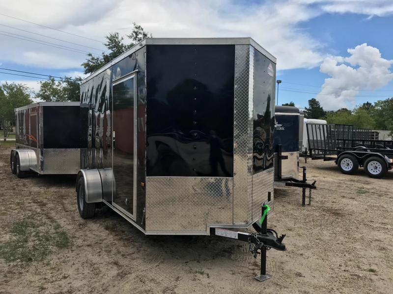 2018 6x12 Rock Solid Cargo SA VN Enclosed Cargo Trailer