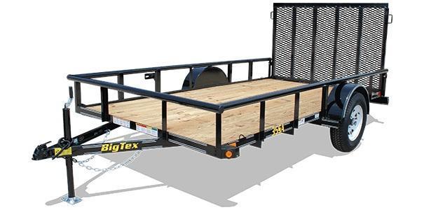 2020 6.5x12 Big Tex Trailers 35SA-12 Utility Trailer