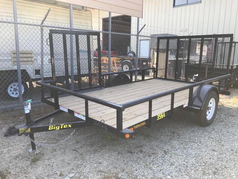 2018 6.10x12 Big Tex Trailers 35SA-12 ATV Trailer