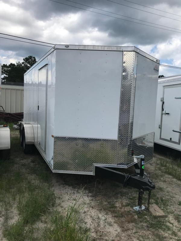 2018 7x16 Rock Solid Cargo TA VN Enclosed Cargo Trailer