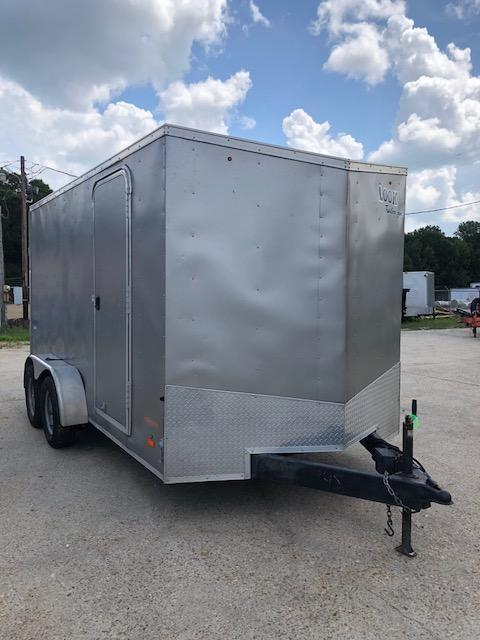 USED 2014 7x14 Look Trailers Cargo Enclosed Trailer