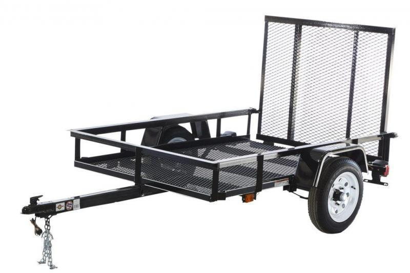 2019 4x8 Carry-On MG Utility Trailer
