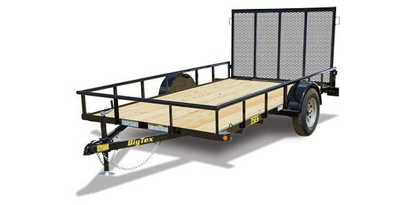 2019 6.5x12 Big Tex Trailers 35ES-12 Utility Trailer