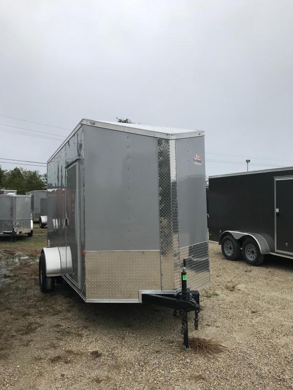 2020 6x12 Rock Solid Cargo SA VN Enclosed Cargo Trailer