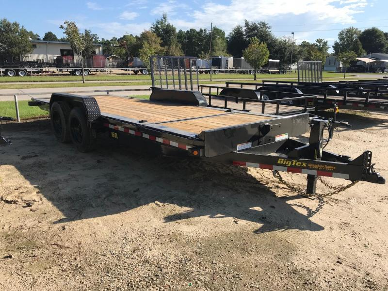 2019 6.10x20 Tilt Big Tex Trailers 16TL-20 Equipment Trailer in Mc Lain, MS
