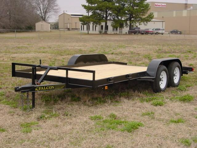 2019 Falcon 6.10x16  Car Hauler Utility Trailer