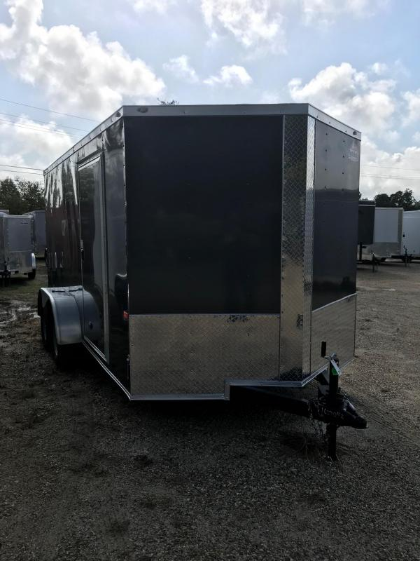 2020 7x14 Rock Solid Cargo TA VN Enclosed Cargo Trailer