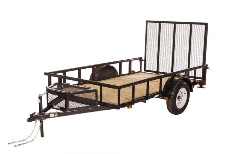 2019 5.5x10 Carry-On GWPTLED Utility Trailer
