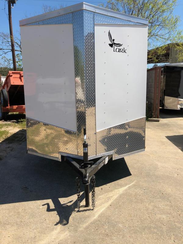 2019 6x12  Lark SA Enclosed Cargo Trailer
