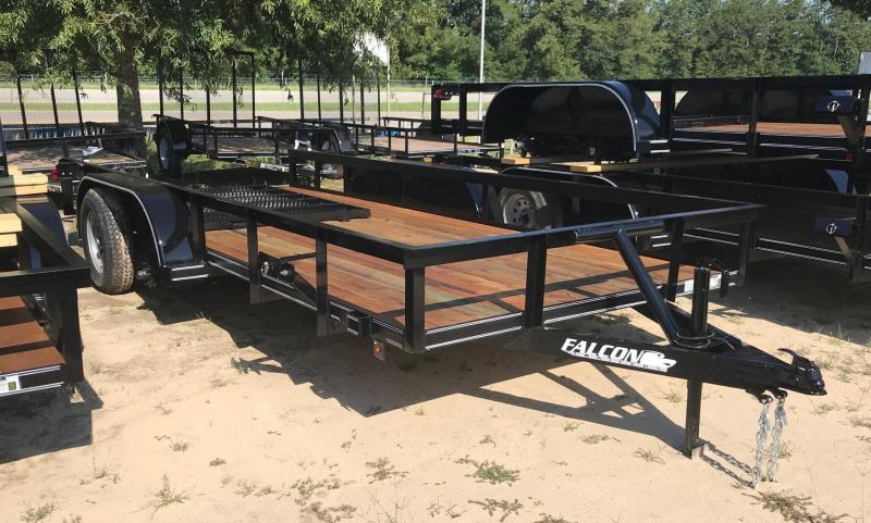 2019 6.5x16 Falcon SD Utility Trailer
