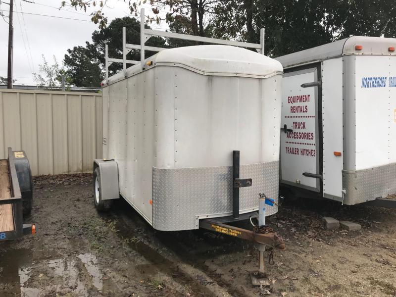 2007 Used 5x10 Haulmark Transport Enclosed Cargo Trailer