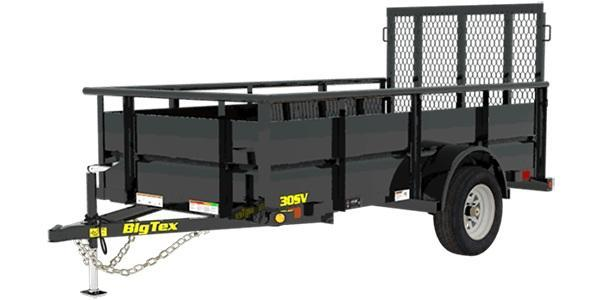 2019 5x10 Big Tex Trailers 30SV-10 Utility Trailer