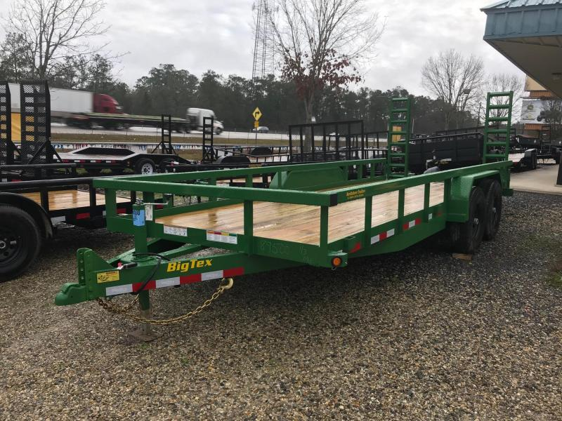 2019 6.10x20 Big Tex Trailers 14PI-20 Equipment Trailer