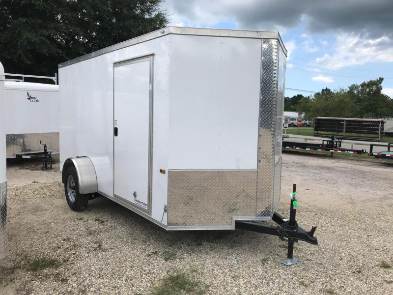 2018 6x12 Rock Solid Cargo SA VN Enclosed Cargo Trailer