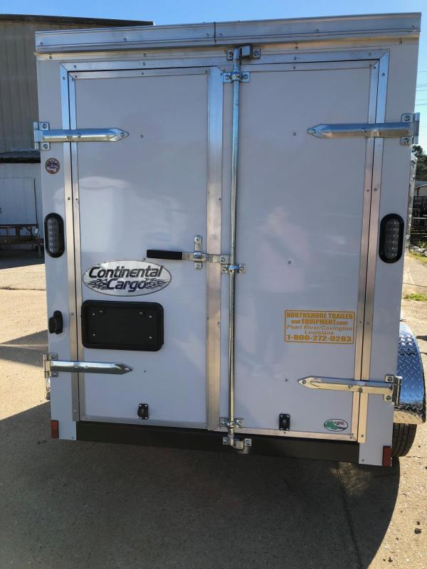 2019 Continental Cargo 08x05 SA Enclosed Cargo Trailer