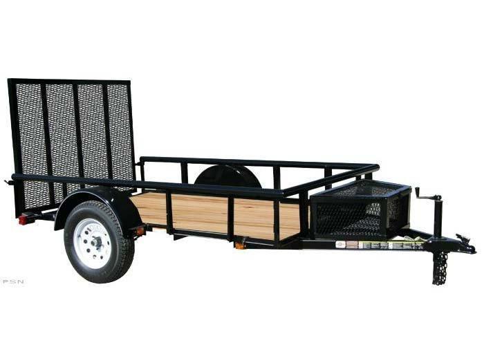 2019 Carry-On 5.5x12GWPR - 2990 lbs. GVWR Wood Floor Trailer Utility Trailer