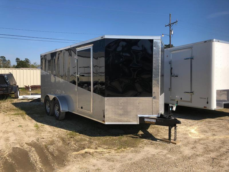 2018 7x16 Lark Victory Enclosed Cargo Trailer