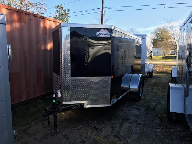 2019 5x10 Rock Solid Cargo SA VN Enclosed Cargo Trailer
