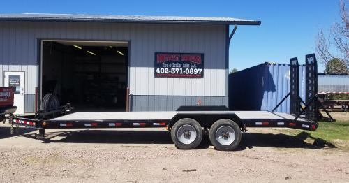 "2019 PJ Trailers 22' x 8"" Pro-Beam Equipment (H4) Equipment Trailer"