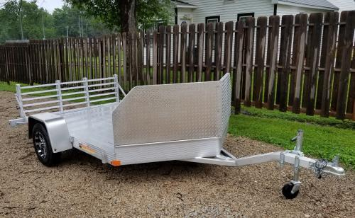 "2019 Bear Track 11' x 76"" BTM76132S Motorcycle Trailer"