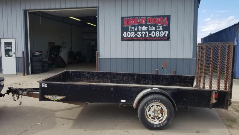 2004 H and H Trailer 6 x 12 Utility Trailer