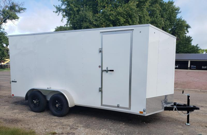 2020 Impact Trailers 7 x 16 Quake Enclosed Cargo Trailer