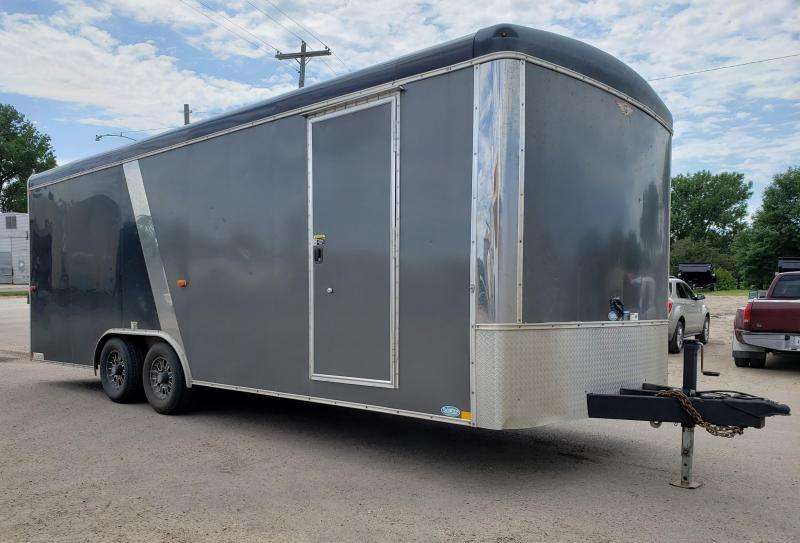 "2015 H and H 101"" x 22' Enclosed Cargo Trailer"