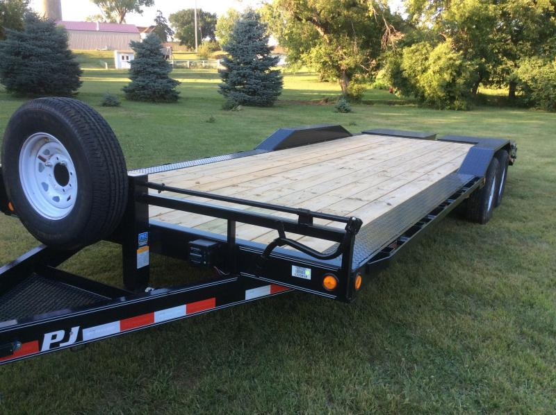 2020 PJ Trailers 24' x 6 in. Channel Super-Wide (B6) Car / Racing Trailer