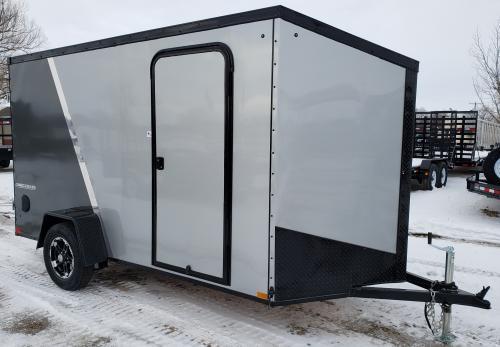 2019 Impact 6' x 12' Shockwave Enclosed Cargo Trailer