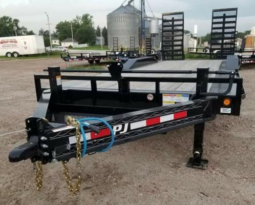 "2018 PJ Trailers 22' x 8"" Pro-Beam Super-Wide Equip (H6) Equipment Trailer"