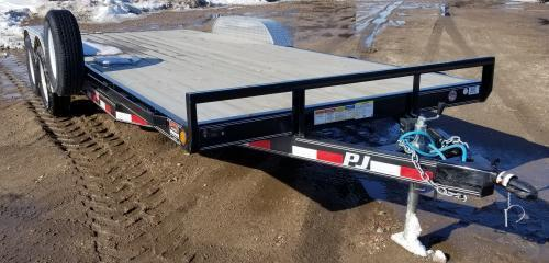 2019 PJ Trailers 20' x 5 in. Channel Carhauler (C5) Car / Racing Trailer