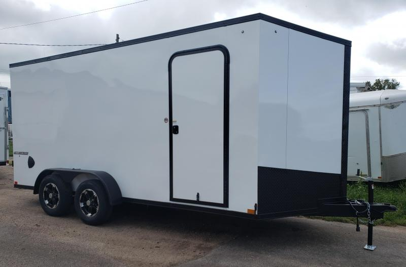 2020 Impact Trailers 7 x 16 Shockwave Blackout ITS Enclosed Cargo Trailer