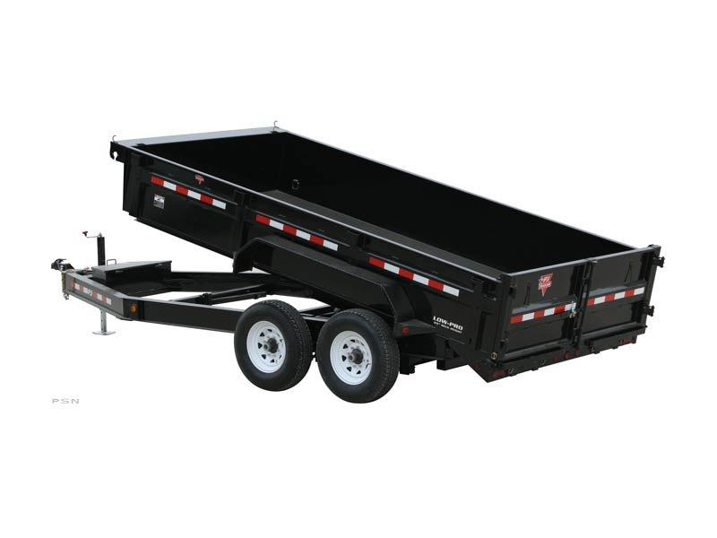 2020 PJ Trailers 14' x 83 in. Low Pro Dump (DL) Dump Trailer
