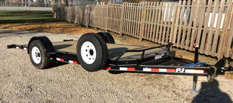 2019 PJ Trailers 16' Single Axle HD Tilt (T1) Equipment Trailer