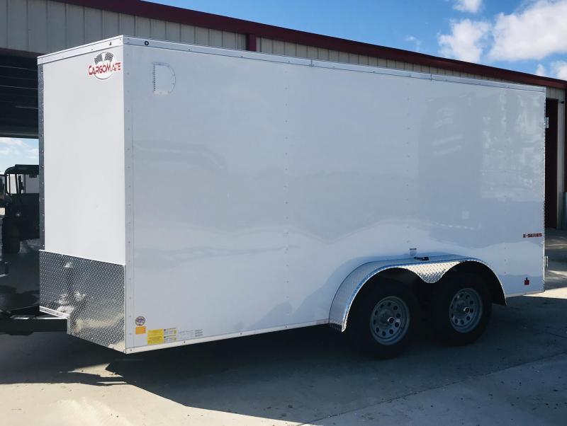 2019 Cargo Mate TXEHW714TA2 Enclosed Cargo Trailer