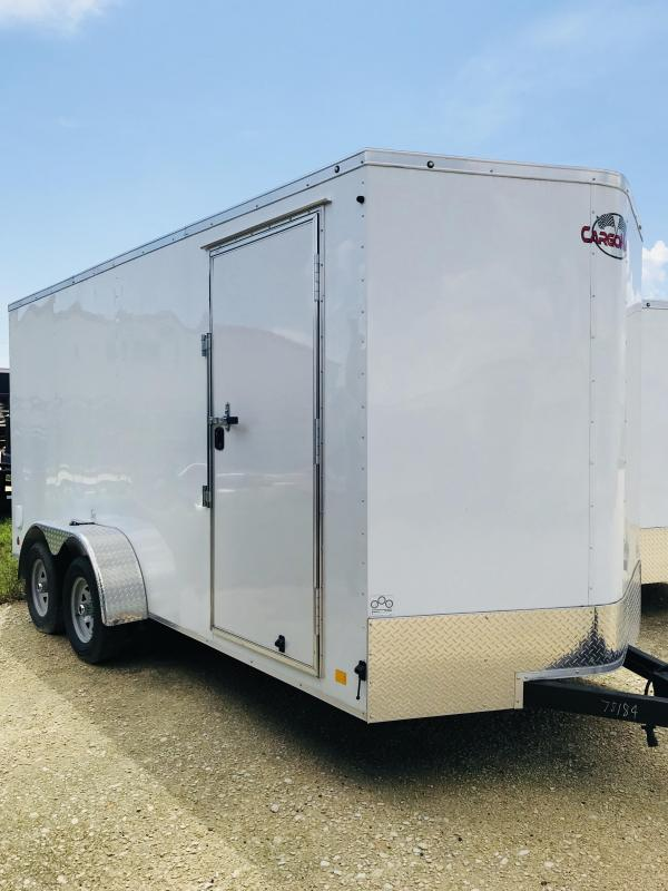 2018 Cargo Mate TXLEEH716TA2 Enclosed Cargo Trailer