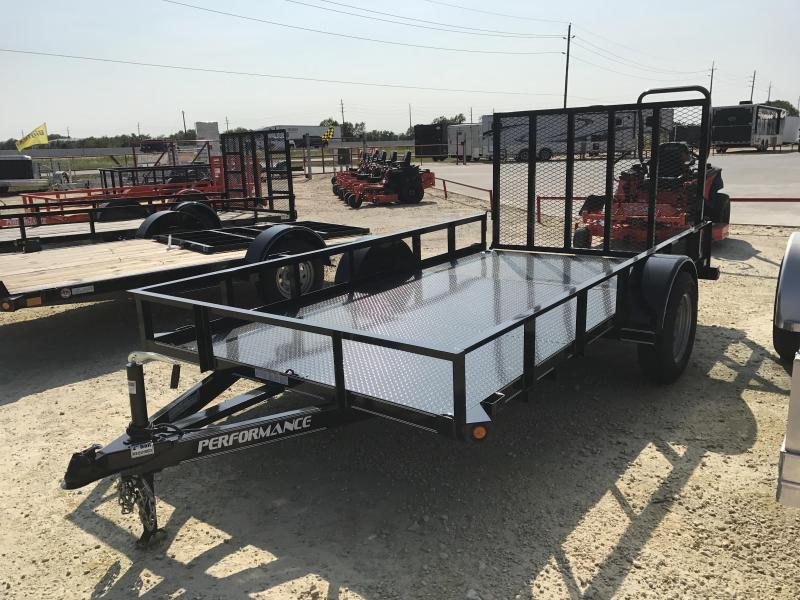 2018 Performance Trailers SA121 Utility Trailer