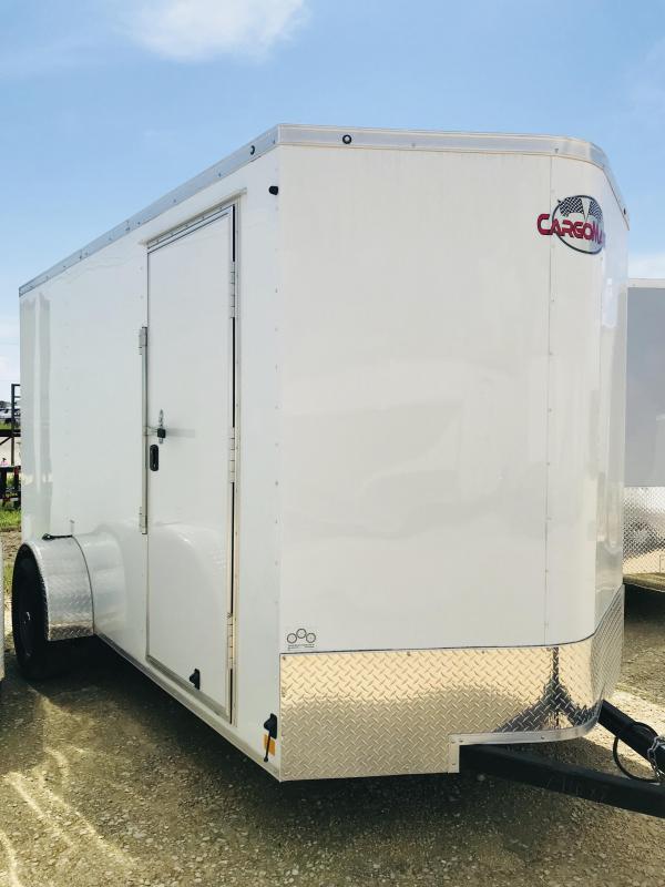2018 Cargo Mate TXLEEH612SA Enclosed Cargo Trailer