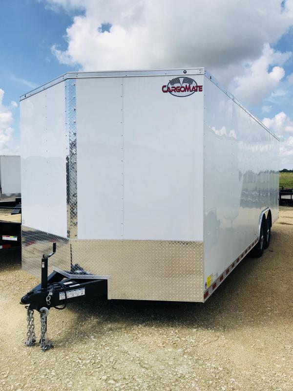 2018 Cargo Mate TXEHW8.524TA5 Enclosed Cargo Trailer