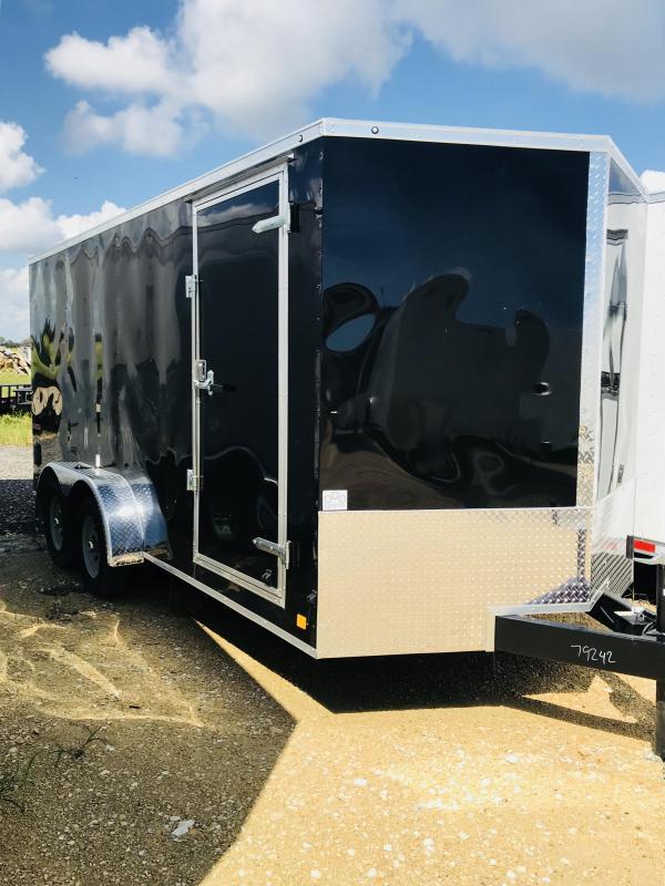 2018 Cargo Mate TXEHW716TA2 Enclosed Cargo Trailer