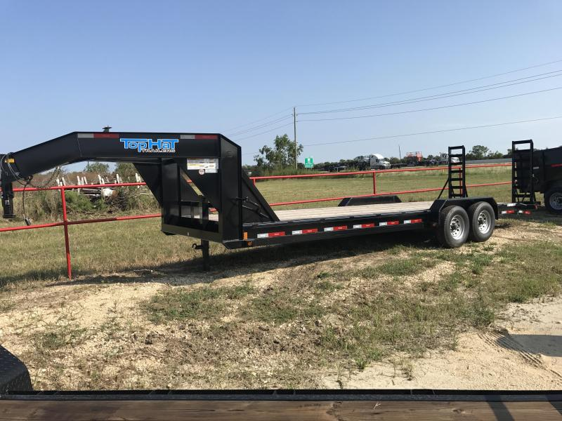 2018 Top Hat Trailers EHGN24X7-14E-F Equipment Trailer