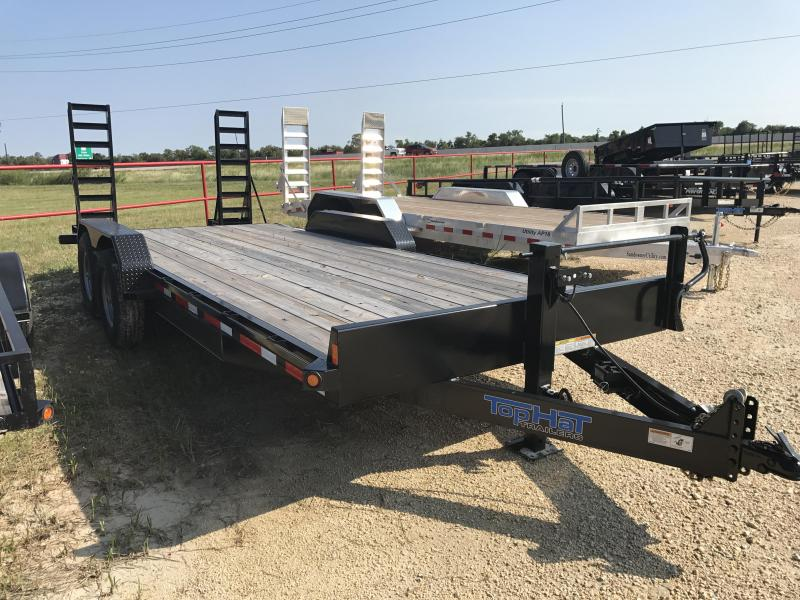 2018 Top Hat Trailers EH20X7-14E-F Equipment Trailer
